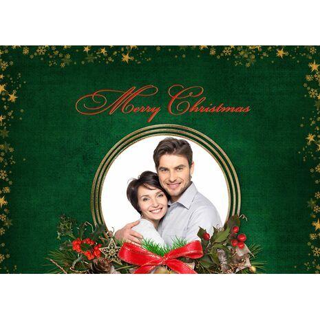 Personalised Christmas Card 046