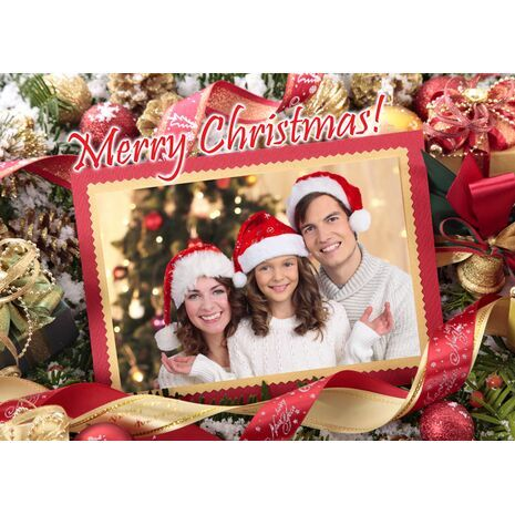 Personalised Christmas Card 048