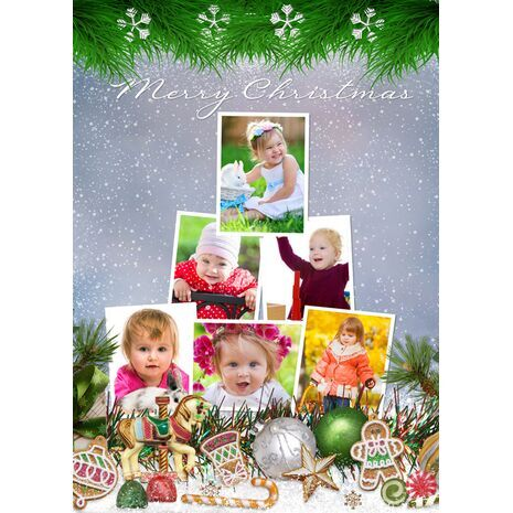 Personalised Christmas Card 049