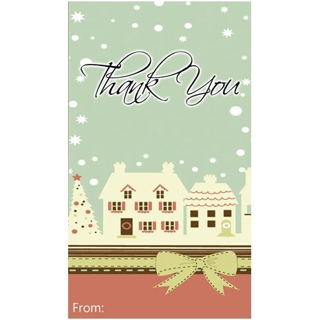 Thank You Gift Tag TY GT 0402
