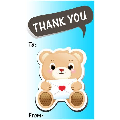 Thank You Gift Tag TY GT 0404