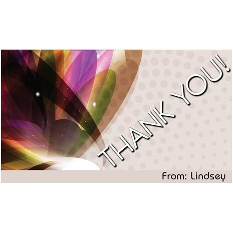Thank You Gift Tag TY GT 0409