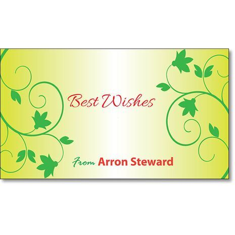 Best Wishes Gift Tag BW GT 0709