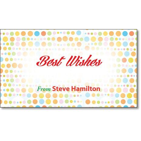 Best Wishes Gift Tag BW GT 0710