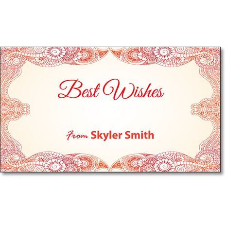 Best Wishes Gift Tag BW GT 0720