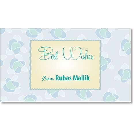 Best Wishes Gift Tag BW GT 0724