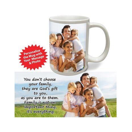 Personalised Pictorial Mug Family PP FM 1201