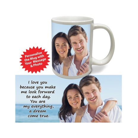 Personalised Pictorial Mug Love PP LM 1105