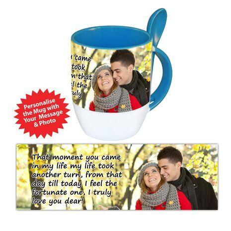 Personalised Pictorial Spoon Mug PP SM 1302