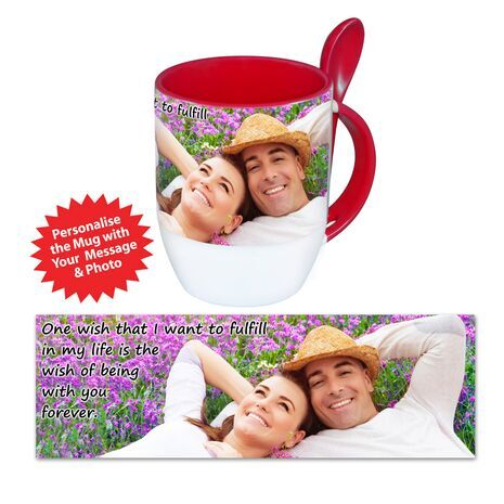 Personalised Pictorial Spoon Mug PP SM 1304