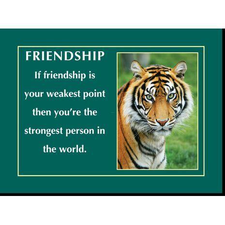 Motivational Print Friendship MP SH 8923