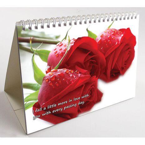 Wife - Personalised Sentimental Desk Calendar