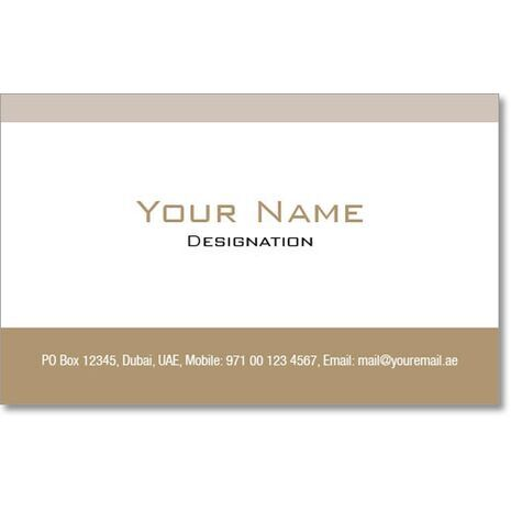 Business Card BC 0309