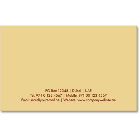Business Card BC 0315