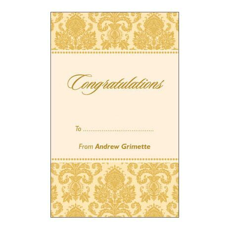 Congratulations Gift Tag C GT 0611