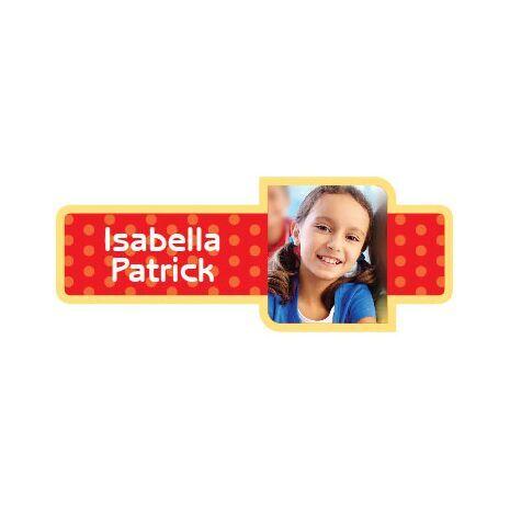 Personalised School Label 003