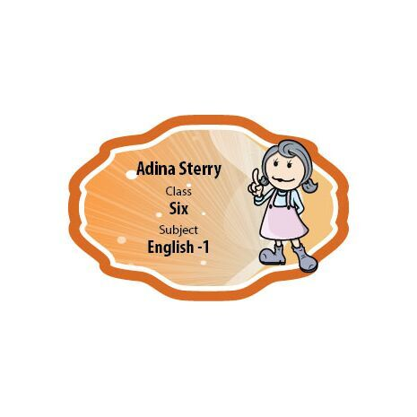 Personalised School Label 015