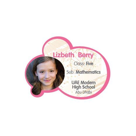 Personalised School Label 037