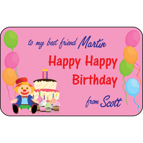 Personalised Gift Labels ST PGL 0013