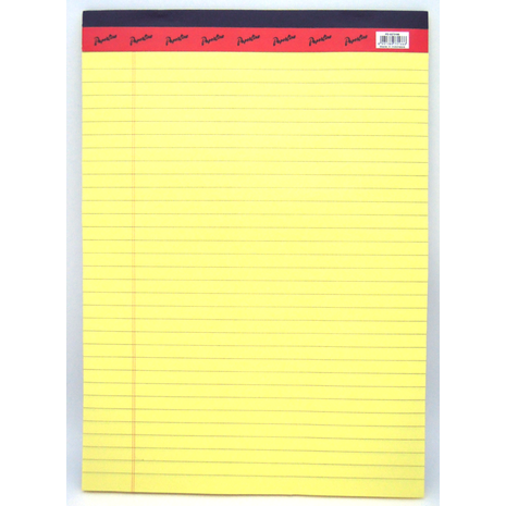 Legal Pad A4 Yellow Paper