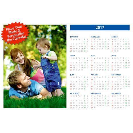 Poster Calendar Single Picture PCS 002