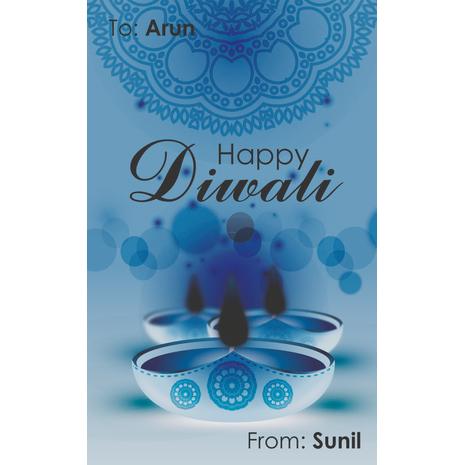 Greeting cards accessories gift tags diwali diwali design diwali design gift tag 015 m4hsunfo