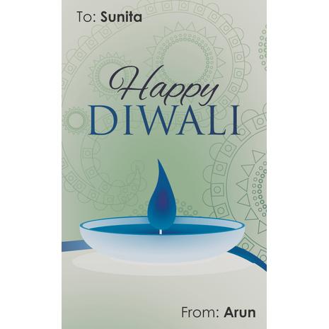 Diwali Design Gift Tag 097
