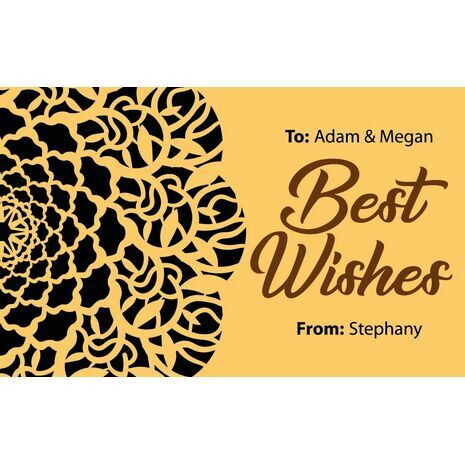 Laser Cut Gift Tags D 272